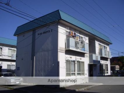 北海道札幌市厚別区、厚別駅徒歩8分の築29年 2階建の賃貸アパート