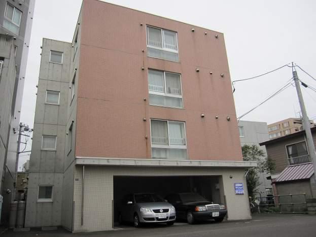北海道札幌市豊平区、平岸駅徒歩7分の築14年 4階建の賃貸マンション