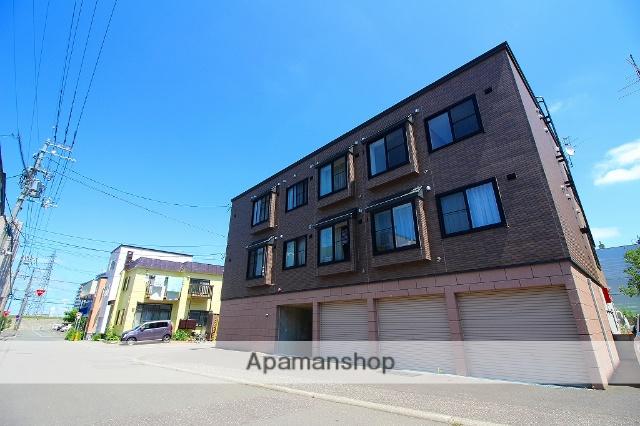 北海道札幌市豊平区、平岸駅徒歩18分の築10年 3階建の賃貸アパート