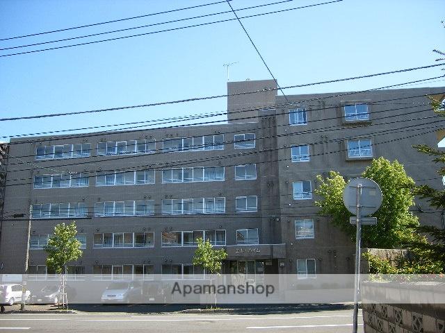 北海道札幌市豊平区、平岸駅徒歩13分の築28年 5階建の賃貸マンション