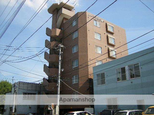 北海道札幌市豊平区、中の島駅徒歩11分の築20年 7階建の賃貸マンション
