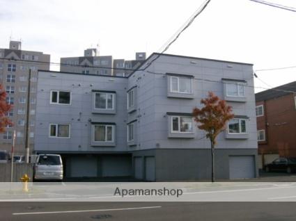 北海道札幌市豊平区、福住駅徒歩7分の築17年 3階建の賃貸アパート
