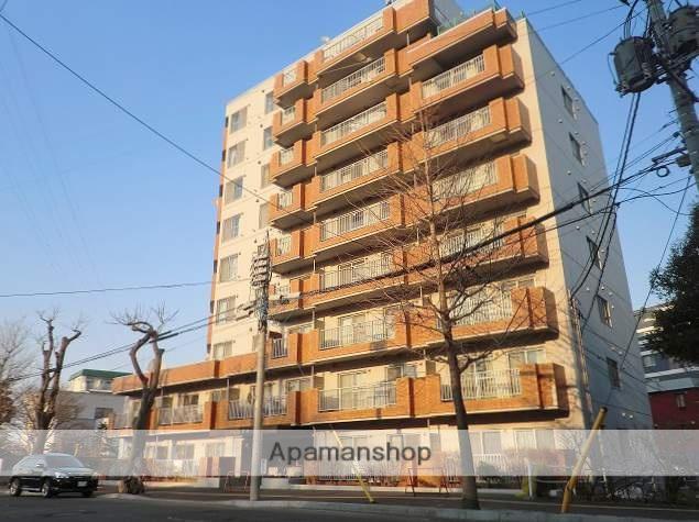 北海道札幌市豊平区、南平岸駅徒歩5分の築28年 10階建の賃貸マンション