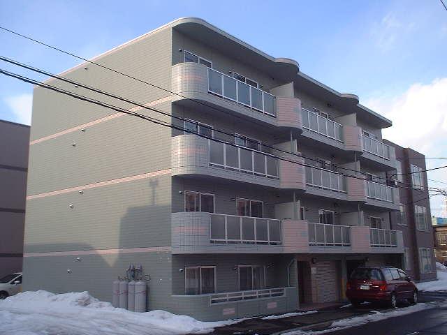 北海道札幌市豊平区、豊平公園駅徒歩13分の築14年 4階建の賃貸マンション