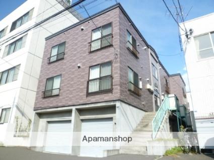 北海道札幌市豊平区、菊水駅徒歩17分の築14年 3階建の賃貸アパート