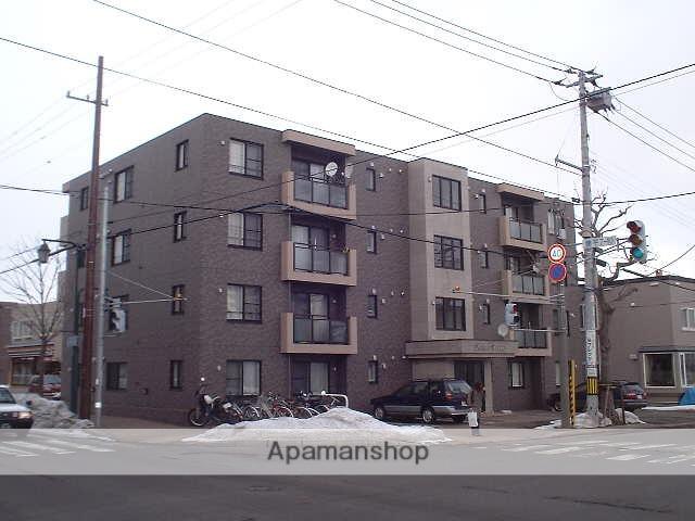 北海道札幌市豊平区、学園前駅徒歩9分の築13年 4階建の賃貸マンション