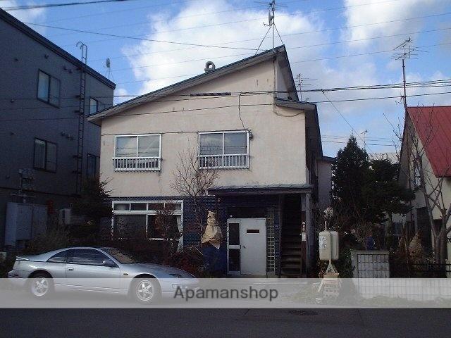 北海道札幌市豊平区、平岸駅徒歩15分の築40年 2階建の賃貸アパート