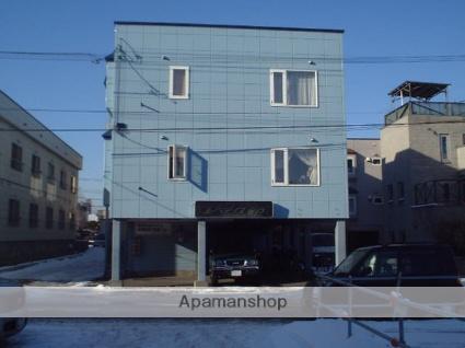 北海道札幌市豊平区、白石駅徒歩12分の築25年 3階建の賃貸アパート