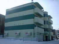 北海道札幌市豊平区、豊平公園駅徒歩12分の築16年 4階建の賃貸マンション