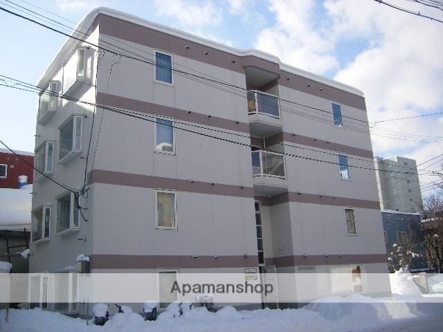 北海道札幌市豊平区、幌平橋駅徒歩13分の築27年 4階建の賃貸マンション