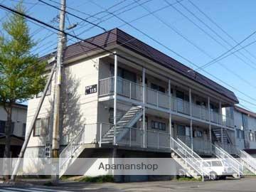 北海道札幌市豊平区、南平岸駅徒歩12分の築31年 2階建の賃貸アパート