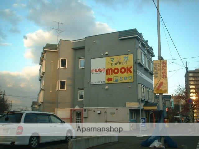 北海道札幌市豊平区、豊平公園駅徒歩15分の築17年 3階建の賃貸アパート