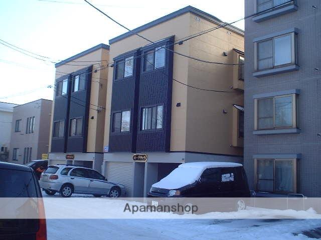 北海道札幌市豊平区、平岸駅徒歩19分の築16年 3階建の賃貸アパート