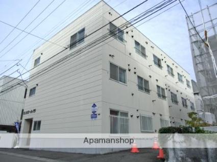 北海道札幌市豊平区、中の島駅徒歩13分の築26年 3階建の賃貸マンション