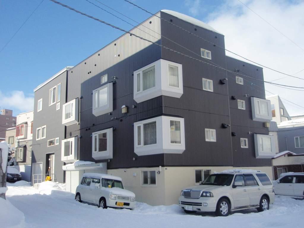 北海道札幌市厚別区、厚別駅徒歩3分の築29年 3階建の賃貸アパート