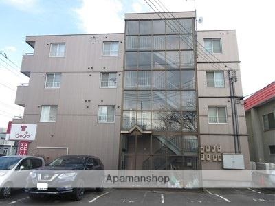 北海道札幌市厚別区、厚別駅徒歩5分の築28年 4階建の賃貸マンション