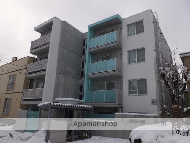 北海道札幌市厚別区、大谷地駅徒歩11分の築3年 4階建の賃貸マンション