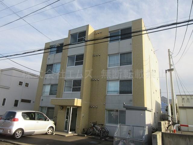 北海道北広島市、北広島駅徒歩15分の築11年 4階建の賃貸マンション