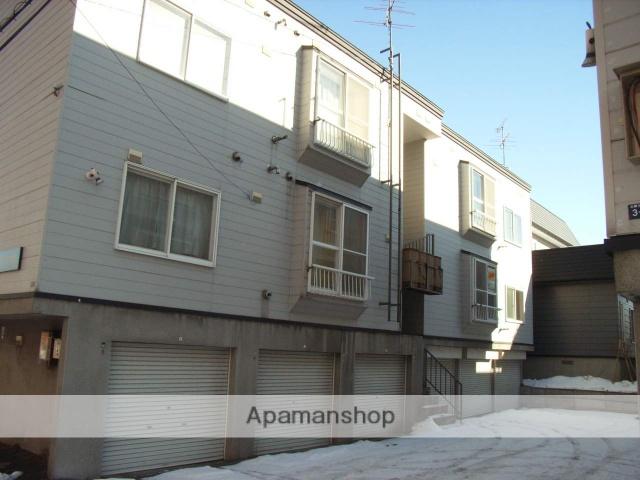 北海道札幌市白石区、白石駅徒歩16分の築24年 3階建の賃貸アパート