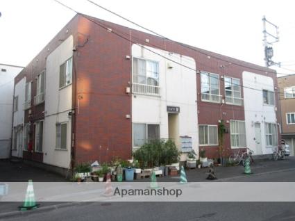 北海道札幌市白石区、東札幌駅徒歩8分の築32年 2階建の賃貸アパート