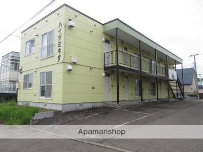 北海道北広島市、北広島駅徒歩17分の築25年 2階建の賃貸アパート