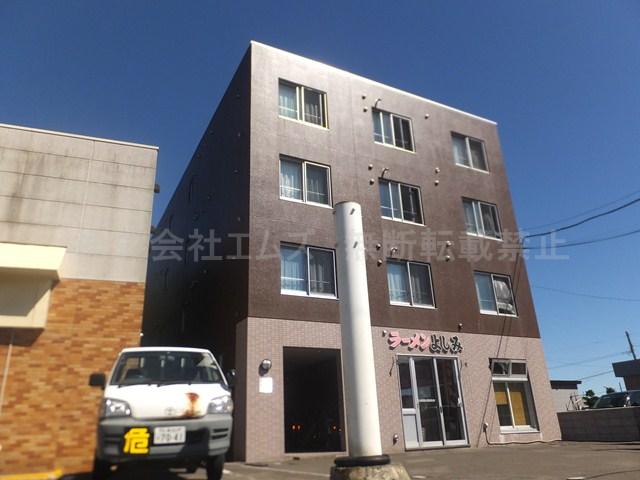 北海道北広島市、北広島駅徒歩15分の築13年 4階建の賃貸マンション