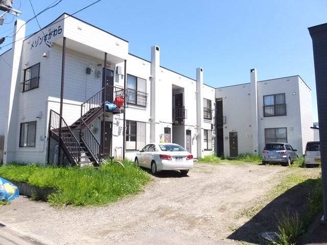 北海道札幌市白石区、白石駅徒歩22分の築33年 2階建の賃貸アパート