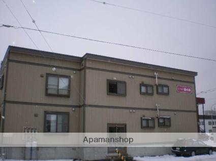 北海道北広島市、北広島駅徒歩13分の築13年 2階建の賃貸アパート