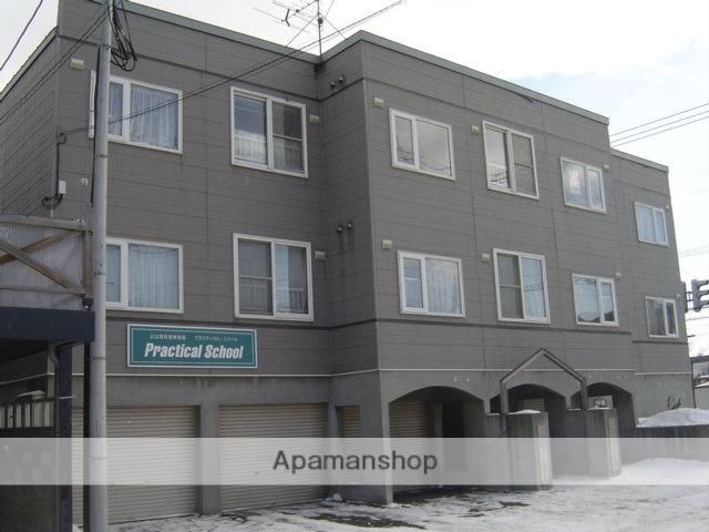 北海道札幌市白石区、平和駅徒歩14分の築21年 3階建の賃貸アパート