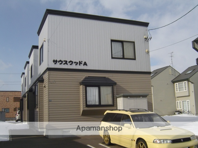 北海道札幌市白石区、平和駅徒歩7分の築14年 2階建の賃貸テラスハウス