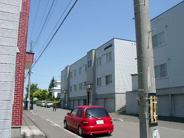 北海道札幌市厚別区、厚別駅徒歩14分の築27年 2階建の賃貸アパート