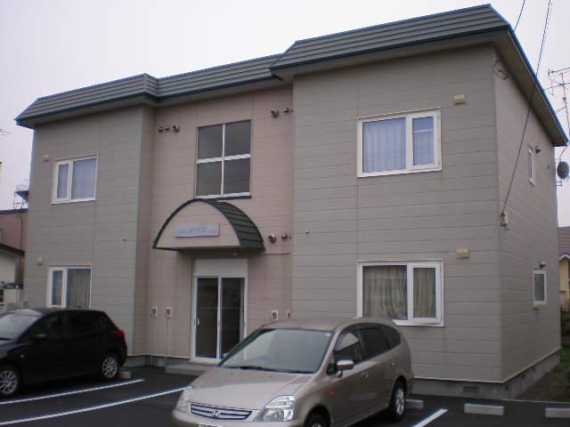 北海道北広島市、北広島駅徒歩14分の築18年 2階建の賃貸アパート