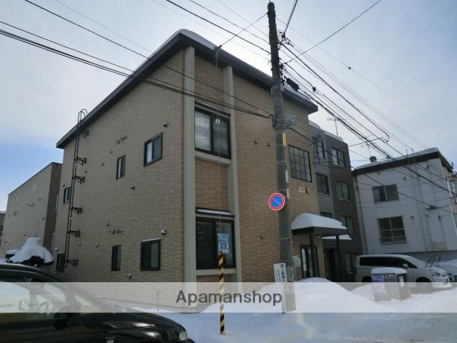 北海道札幌市白石区、東札幌駅徒歩6分の築12年 2階建の賃貸アパート