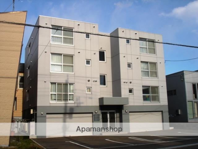 北海道札幌市白石区、白石駅徒歩11分の築13年 4階建の賃貸マンション