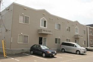 北海道札幌市白石区、白石駅徒歩20分の築25年 2階建の賃貸アパート