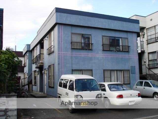 北海道札幌市白石区、白石駅徒歩12分の築30年 2階建の賃貸アパート
