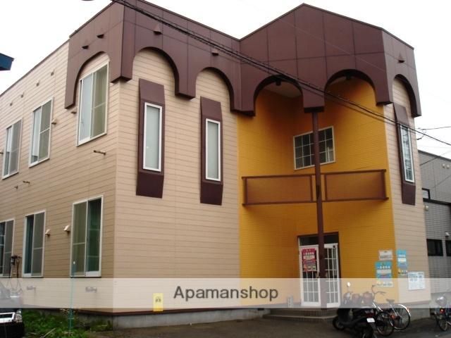 北海道札幌市白石区、白石駅徒歩9分の築28年 2階建の賃貸アパート