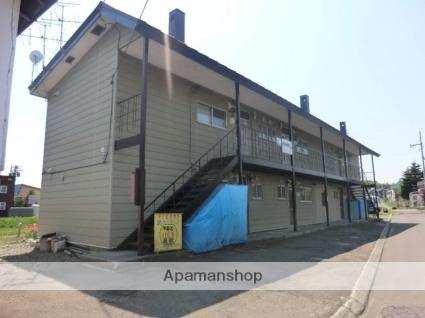 北海道北広島市、北広島駅徒歩15分の築44年 2階建の賃貸アパート