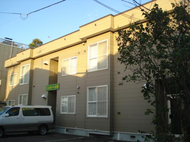 北海道札幌市白石区、平和駅徒歩5分の築23年 2階建の賃貸アパート
