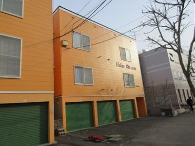 北海道札幌市厚別区、大谷地駅徒歩15分の築22年 2階建の賃貸アパート