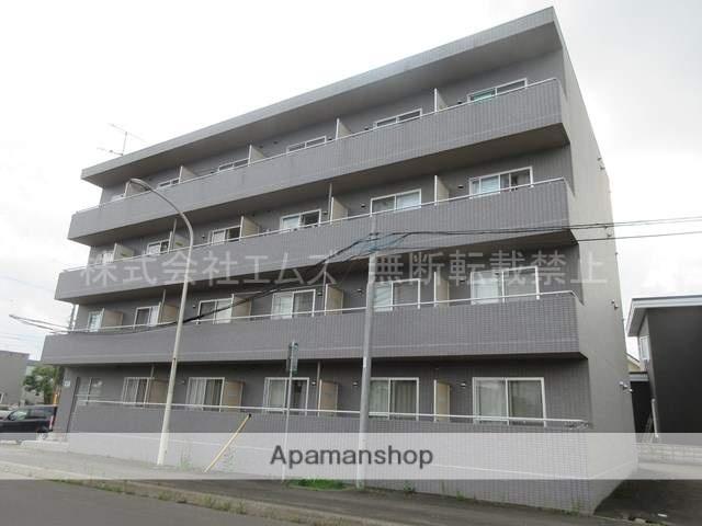 北海道北広島市、北広島駅徒歩11分の築20年 4階建の賃貸マンション