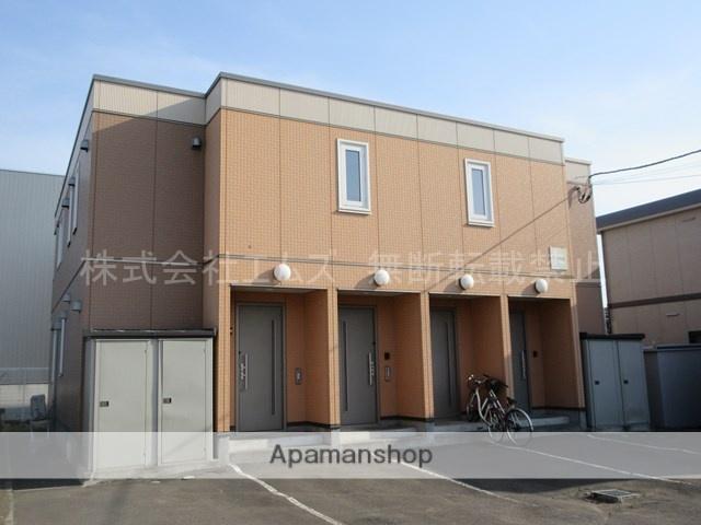 北海道札幌市厚別区、厚別駅徒歩11分の築15年 2階建の賃貸アパート