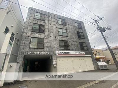 北海道札幌市厚別区、新札幌駅徒歩7分の築24年 4階建の賃貸マンション