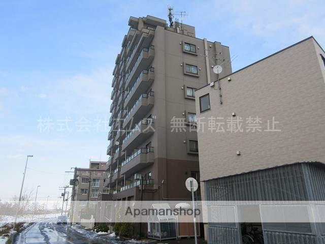 北海道札幌市厚別区、南郷18丁目駅徒歩13分の築15年 10階建の賃貸マンション