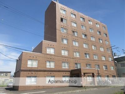 北海道北広島市、北広島駅徒歩15分の築20年 8階建の賃貸マンション