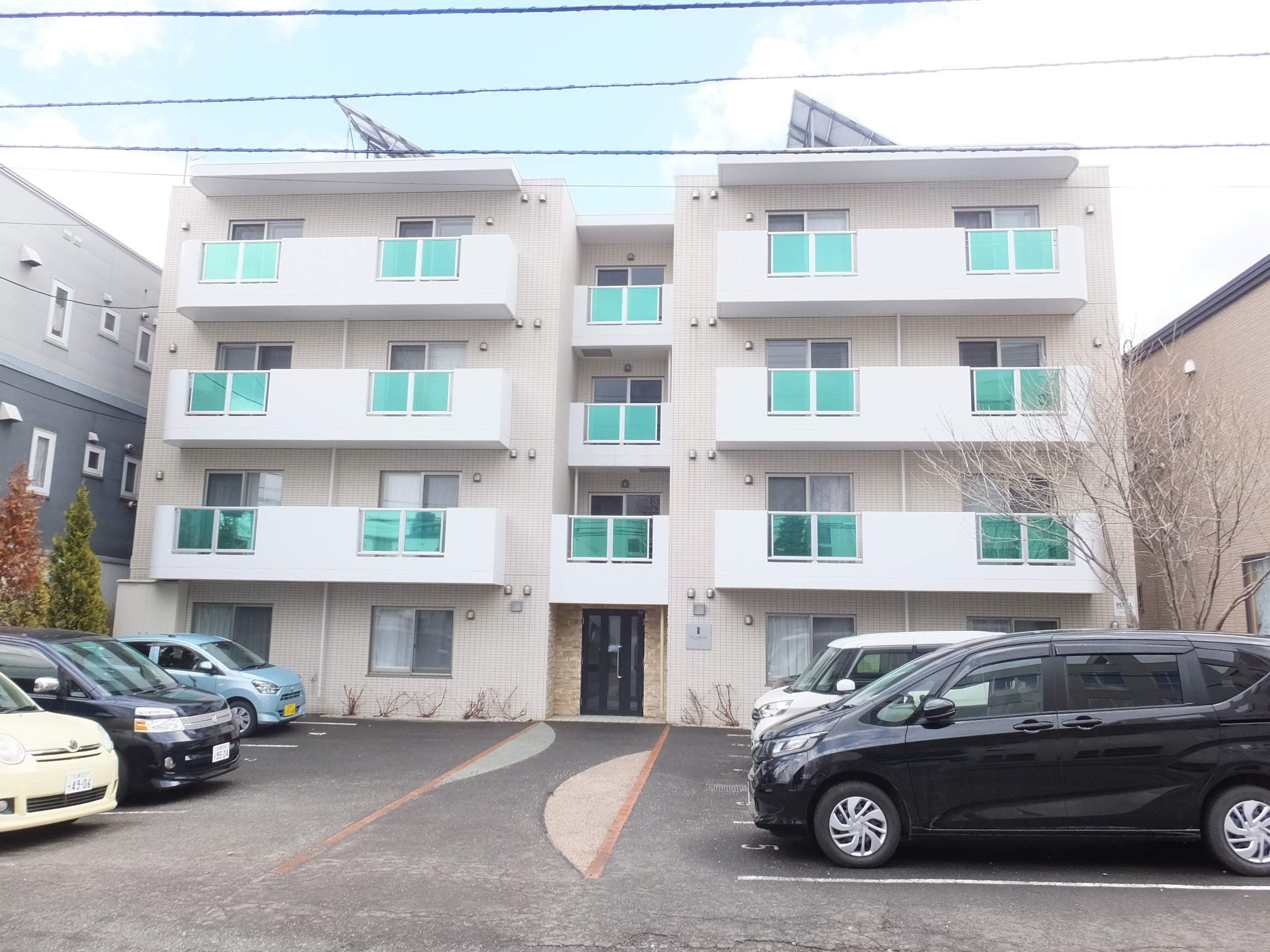 北海道札幌市白石区、菊水駅徒歩5分の築6年 4階建の賃貸マンション