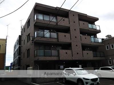 北海道札幌市白石区、東札幌駅徒歩17分の築13年 4階建の賃貸マンション