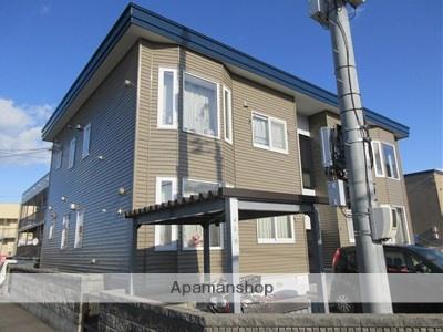北海道札幌市厚別区、厚別駅徒歩9分の築19年 2階建の賃貸アパート