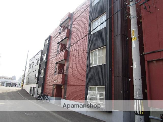 北海道札幌市豊平区、白石駅徒歩13分の築29年 4階建の賃貸マンション