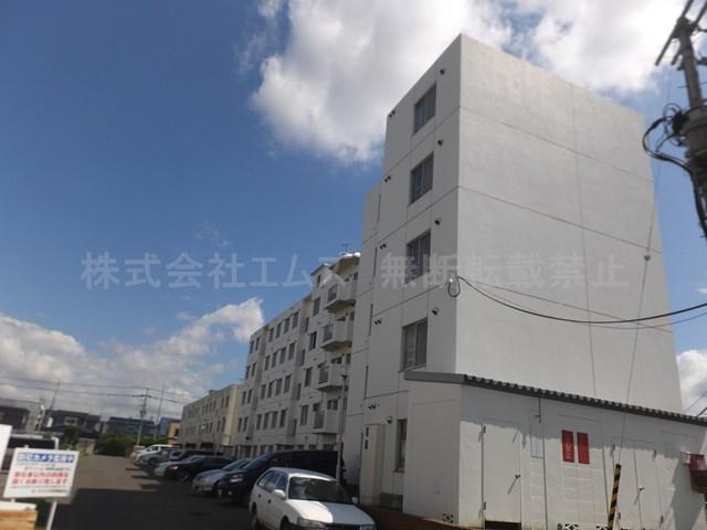北海道北広島市、大谷地駅中央バスバス20分大曲下車後徒歩3分の築31年 5階建の賃貸マンション